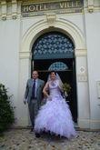 Robe de Mariée parme Modèle Ornella-Hervé Mariage - Occasion du Mariage