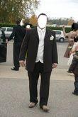 costume marron ivoire - Occasion du Mariage
