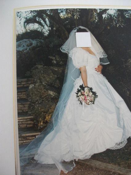 Voile de mariée Pronuptia de 3 mètres d'occasion