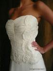 Sublime Robe de mariée neuve de créateur style retro-moderne à Paris