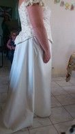 bustier et jupe taille 48 - Occasion du Mariage