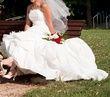 Robe de mariée Marions-nous  avec traîne d'occasion