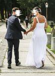 Robe de mariée T40 blanche simple et élégante - Occasion du Mariage