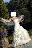 Robe de mariée bustier de chez Complicité année 2009