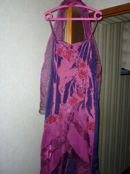 Robe de soirée/cocktail avec étole pas cher idéale mariage en 2012
