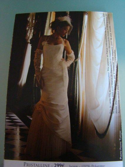 Robe de mariée ivoire Tati mariage taille 36 - Occasion du Mariage
