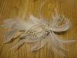Peigne mariée plumes et strass - Occasion du Mariage