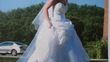 Robe de mariée bustier blanc avec jupon - Occasion du Mariage