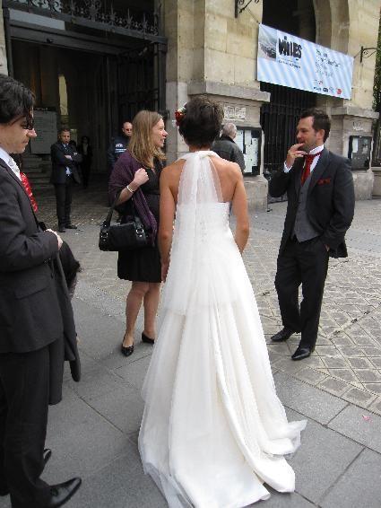 Robe de Mariée T38 Modèle BASILIC de chez Mariés de Provence - Occasion du Mariage
