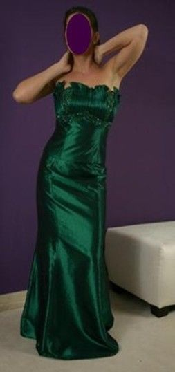 Robe de soirée verte NEUVE de Zeila pas cher d'occasion 2012 - Lorraine - Moselle - Occasion du Mariage