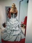 Robe de mariée atypique grise - Occasion du Mariage