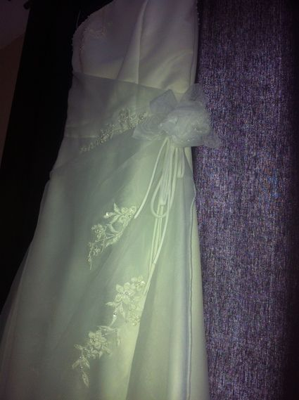 Robe de Mariée JFY Coeur Blanche T34-36 d'occasion