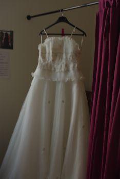 Robe de mariée écrue pas cher en Alsace 2012 - Occasion du mariage