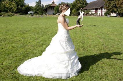 Robe de mariée pas cher Cymbeline modèle Dali 2010 - Occasion du Mariage