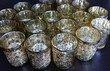 Bougeoires avec bougies led doré - lot de 20  - Occasion du Mariage