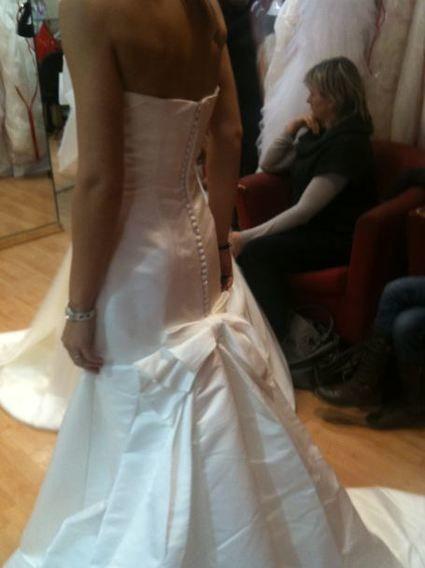 Superbe robe San Patrick T36 collection 2011 pas cher d'occasion 2012 - Rhône Alpes - Rhône - Occasion du Mariage