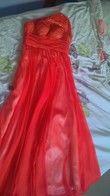 Très jolie Robe rouge longue - Occasion du Mariage