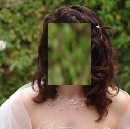Pinces à cheveux perlées et argentées / bijoux pas cher - Occasion du Mariage