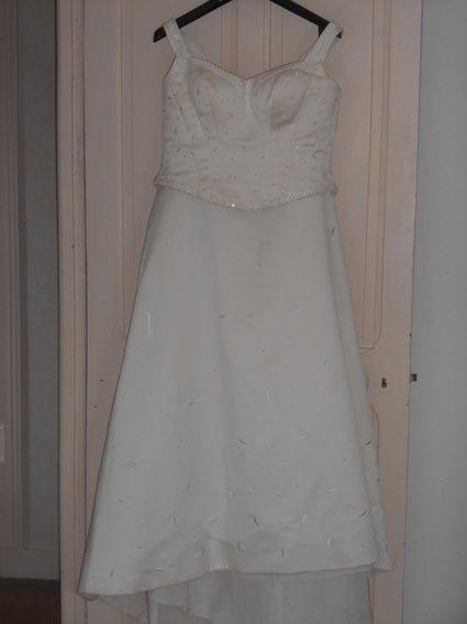 Robe de mariée pronovias d'occasion en satin - Finistère