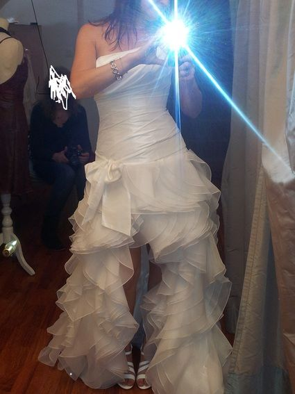 Robe de mariée transformable courte ou longue Cymbeline
