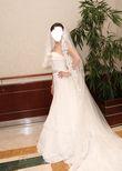 Robe bustier PRONOVIAS - Taille 36 + voile - Occasion du Mariage