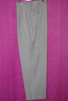 Pantalon fin gris clair T42 d'occasion pas cher - Occasion du mariage