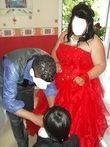 robe de marié rouge - Occasion du Mariage