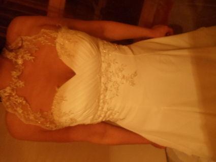 Robe de Mariée Ivoire pas cher d'occasion 2012 - Haute Normandie  - Eure - Occasion du Mariage