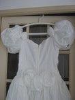 Robe de mariée d'occasion collection Pronuptia 1992 avec voile, jupon et gants