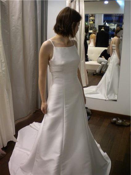 Robe de mariée Pronuptia, modèle de créateur d'occasion