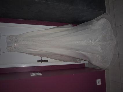 Robe de mariée ivoire Les Mariés d'Aphrodite d'occasion