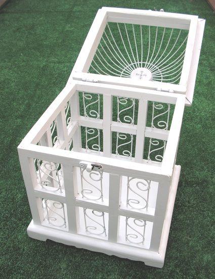 A louer petite urne cage oiseau pour mariage - Petite cage oiseau deco ...