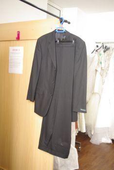 Costume mariage homme T38/40 gris foncé pas cher - Occasion du mariage