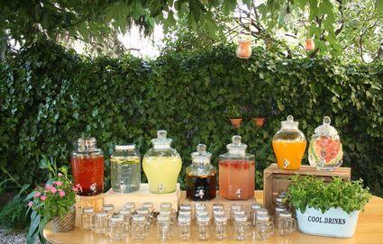 mason jar limonade bar bonbonne avec robinet paris. Black Bedroom Furniture Sets. Home Design Ideas