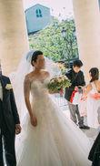 Top col bateau en dentelle - Occasion du Mariage