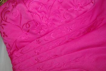 Magnifique robe bustier pas cher fuschia 2012 - Occasion du mariage