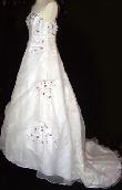 Robe de mariée discount Lathie - Eglantine à Montpellier 2012 - Occasion du Mariage