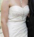 Robe bustier avec brillants - Occasion du Mariage