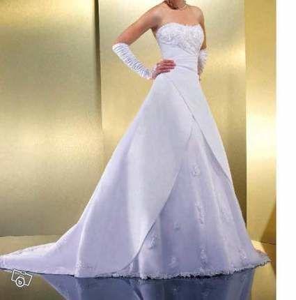 Déstockage de divers robes de mariée à vendre taille 34 au 48