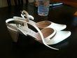 Chaussure de mariage ivoire taille 40 pas cher - Occasion du Mariage