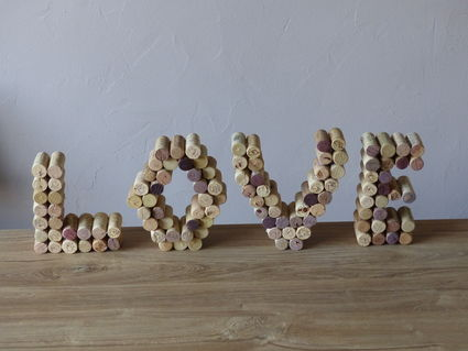 LOVE en bouchons de liège - Essonne
