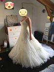 Robe de mariée Pronovias Olesia NEUVE T38-42 - Occasion du Mariage