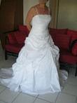 Robe de mariée blanche T40 à 44 de Valandry - Occasion du Mariage