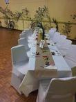 Housse de chaise spandex en décoration de mariage