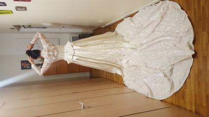 Robe de mariée Kate de Justin Alexander T 40 d'occasion  - Paris