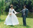 Robe de mariée d'occasion avec strass - Occasion du Mariage