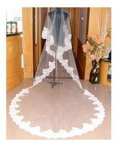 Voile de mariée pas cher cathédrale - DOM/TOM - Réunion 2012 - Occasion du mariage