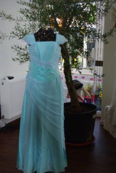 Ensemble de mariage pas cher bleu turquoise 2012 - Occasion du mariage