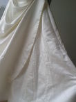 Robe de mariée d'occasion en satin ivoire taille 36
