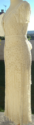 Robe de mariée d'occasion et pas cher en dentelles - Occasion du Mariage